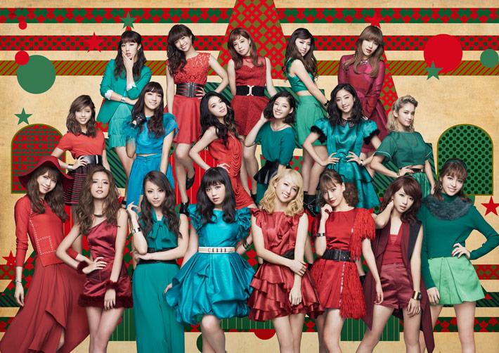 E-girls, promovendo seu primeiro single, tendo a Erie como DJ - Merry×Merry Xmas★